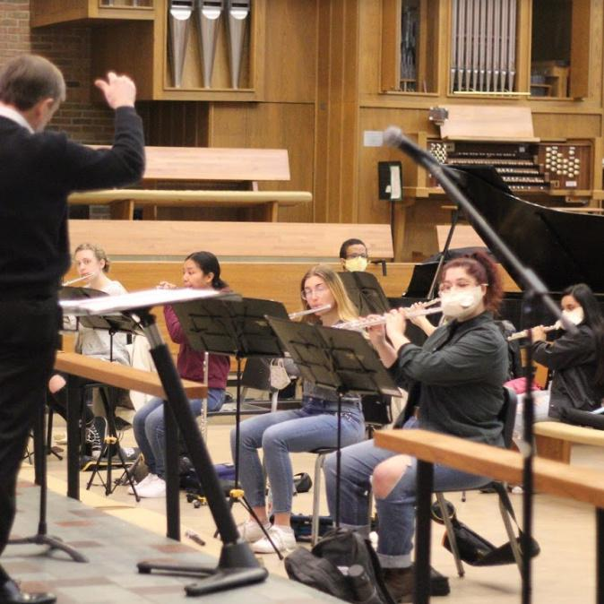 CUC Music Ensembles Adjust to COVID-19 Restrictions in 2021
